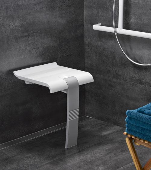 Siège ergonomique douche sénior