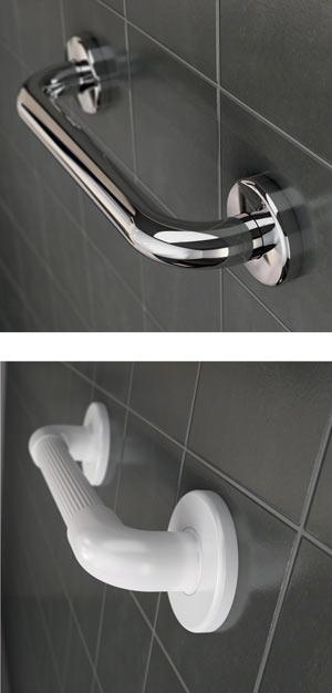 Installer une barre de maintien ou une barre d'appui de douche