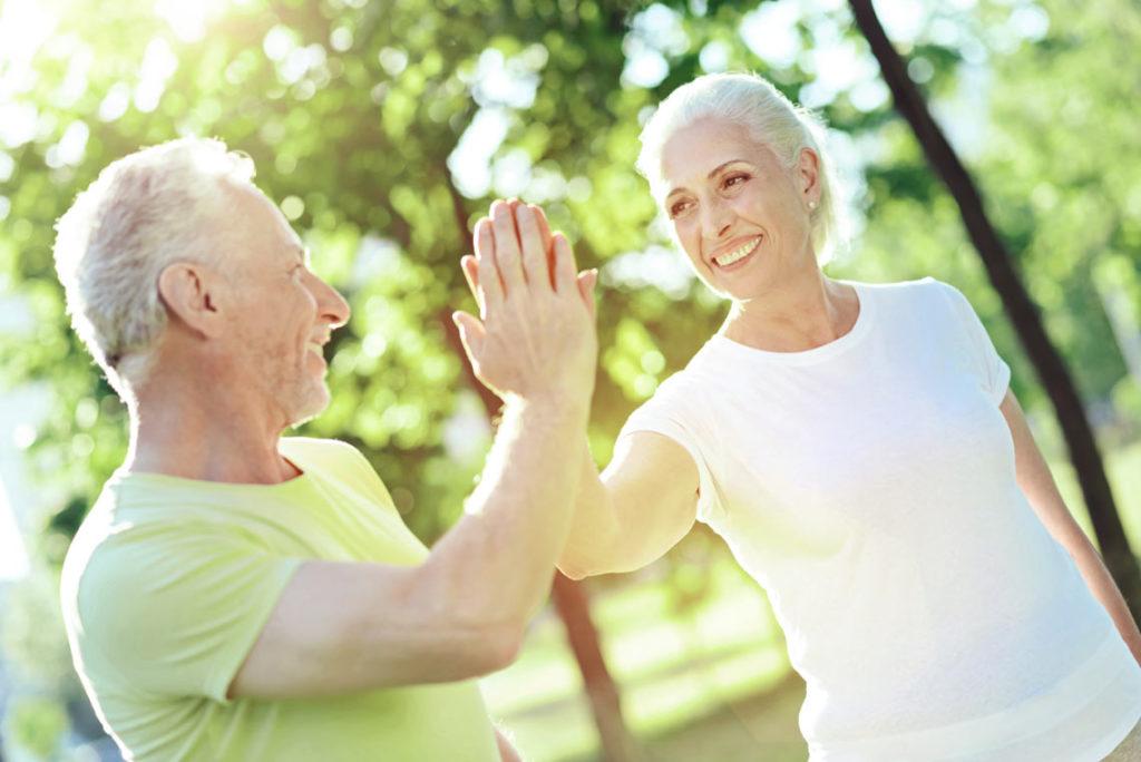 Rester en bonne santé personnes agées